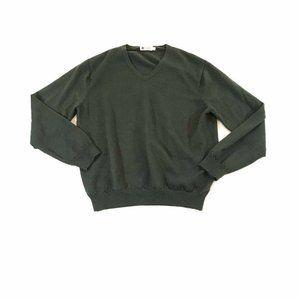 J. Crew Sweater V-Neck Pullover Merino Wool